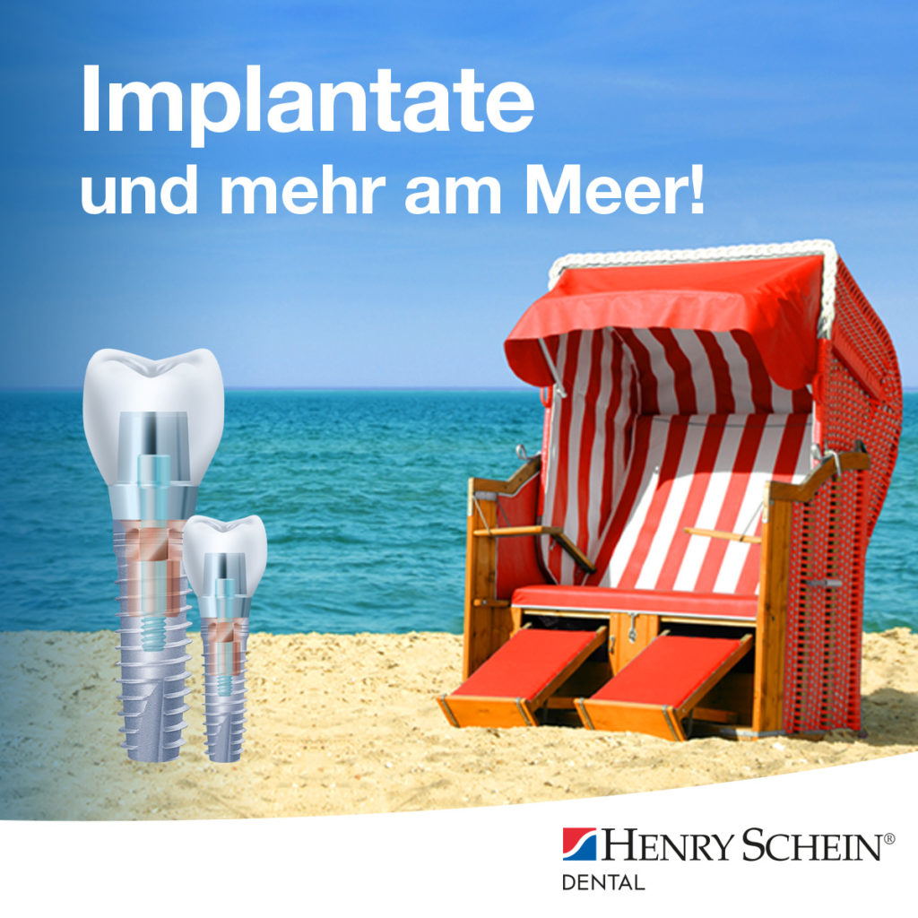 Implantate und mehr am Meer!