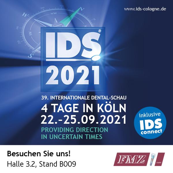 Besuchen Sie uns auf der IDS 2021